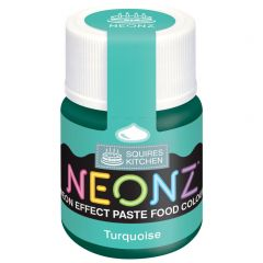 Food Colour Paste Turquoise Neon Effect 20g
