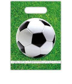 Gavepose i plast Fotball, 6 stk Procos