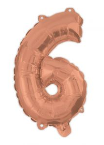 Ballong Rosegull Folie #6, 94cm