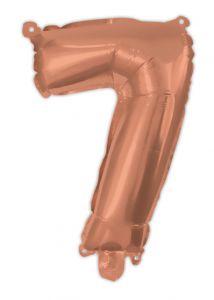 Ballong Rosegull Folie #7, 94cm