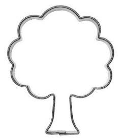 Utstikker Trær 6 cm