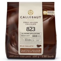 Sjokolade Callebaut Lys 400G (823)