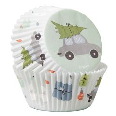 Muffinsform STD Christmas Home, 75 stk