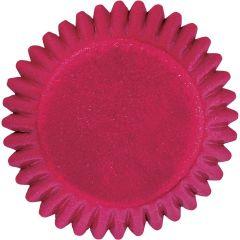 Muffinsform KONFEKT Rød folie, 75 stk