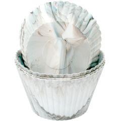 Muffinsformer Marmor i silikon