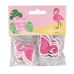 Sticks Flamingo 24 stk