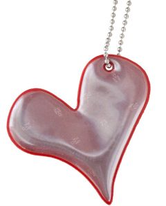 REFLEKS Foamy Heart Red