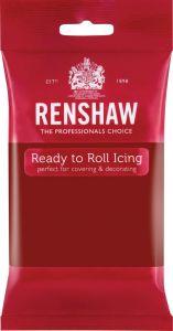 Fondant Ruby Rød Renshaw Extra, 250g