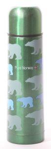 Ståltermos Isbjørn 0,5 liter Pure Norway