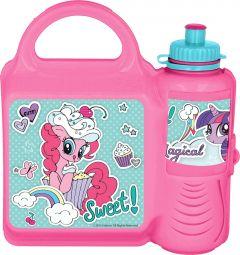 COMBOSETT My Little Pony Matboks/Drikkeflaske