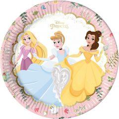 Papptallerken True Princess 23 cm, 8 stk