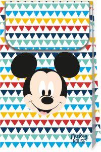 Gavepose i papir Mickey Mouse AW, 6 stk