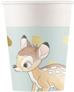 Drikkekrus i Papp, Bambi 8 stk