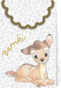 Gavepose i papir Bambi, 6 stk