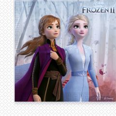 Papirservietter Frozen 2 Destiny Awaits 20 stk, 33