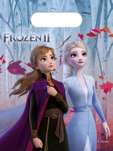 Gavepose i plast Frozen 2 Destiny Awaits, 6 stk