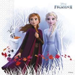 Papirservietter  Frozen 2 Destiny Await Compostabl