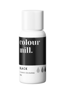 Oil Based Colouring 20ml Black