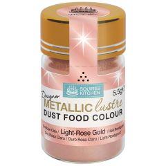 Designer Dust Light-Rose Gold Metallic Food Colour