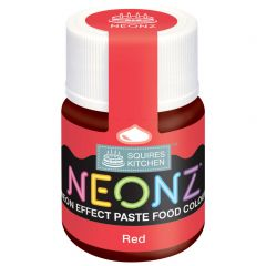 Food Colour Paste Red Neon Effect 20g