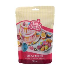 Candy Deco melts Blå, 250 g FC