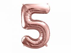 Ballong Rosegull Folie #5, 86cm
