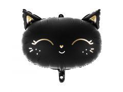 Ballong HalloweenKatt, Folie 48x36cm,