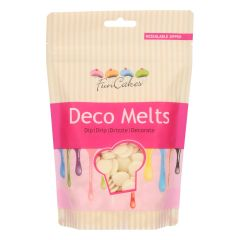 Candy Deco melts Hvit, 250 g