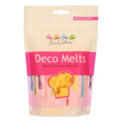 Candy Deco melts Gul, 250 g