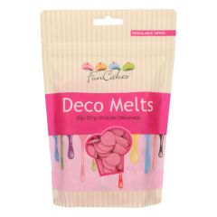 Candy Deco melts Rosa, 250 g