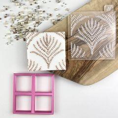 Harvest Style Texture Tile Cookie Embosser