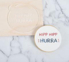 Hipp Hipp Hurra Cookie Embosser