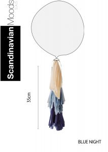 Tassel Blue Night 35 x 25 cm