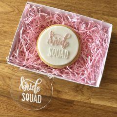 Bride Squad Cookie Embosser