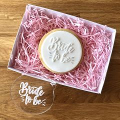Bride to Be Cookie Embosser