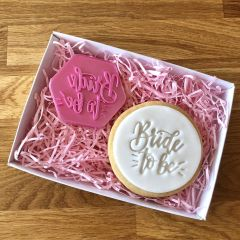Bride to Be Cookie Stamp