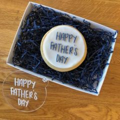 Happy Father's Day Style 1 Cookie Embosser