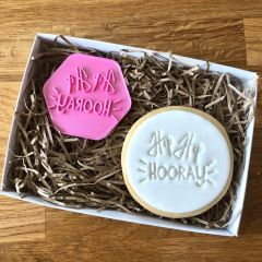Hip Hip Hooray Cookie Stamp