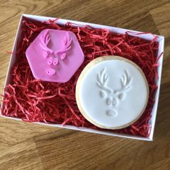 Reindeer Antlers Cookie Stamp