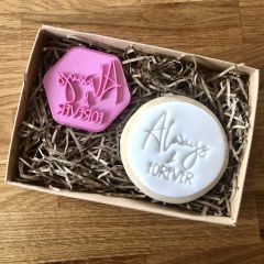 Always and Forever Cookie Stamp