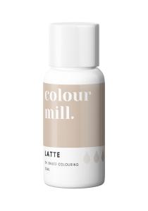 Oil Based Colouring 20ml Latte