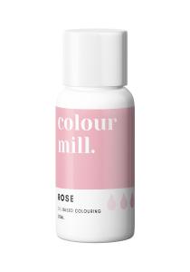 Oil Based Colouring 20ml Rose