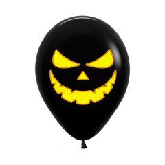 Ballonger Gresskar Sort Bright 30cm, 12 PK