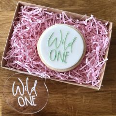 Wild One Cookie Embosser
