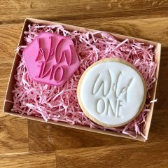 Wild One Cookie Stamp